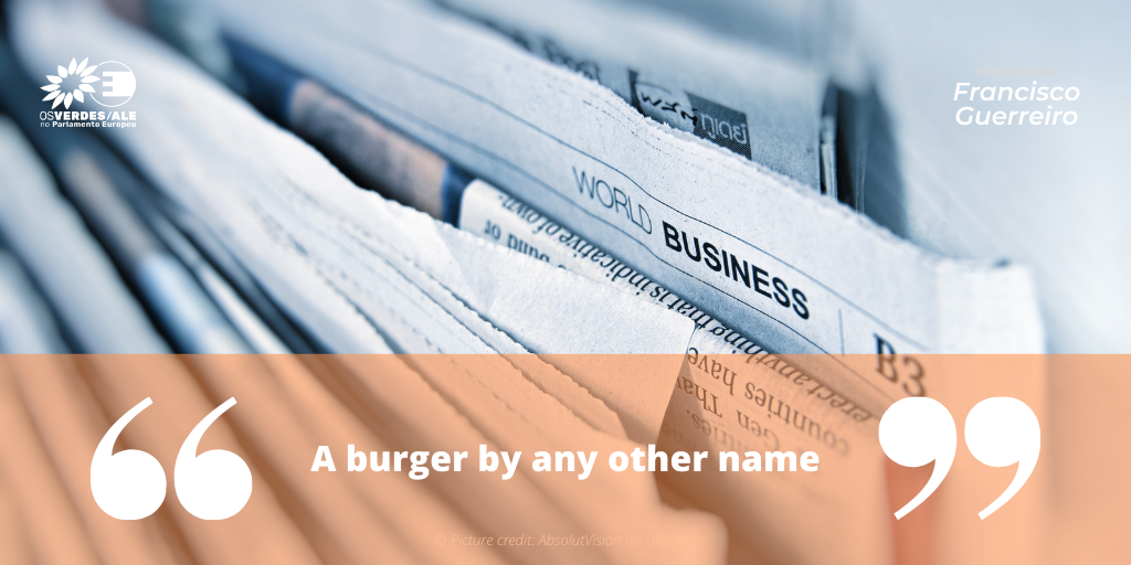 The Parliament Magazine: 'A burger by any other name'