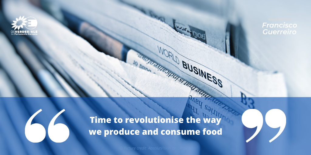 The Parliament Magazine: 'Time to revolutionise the way we produce and consume food'