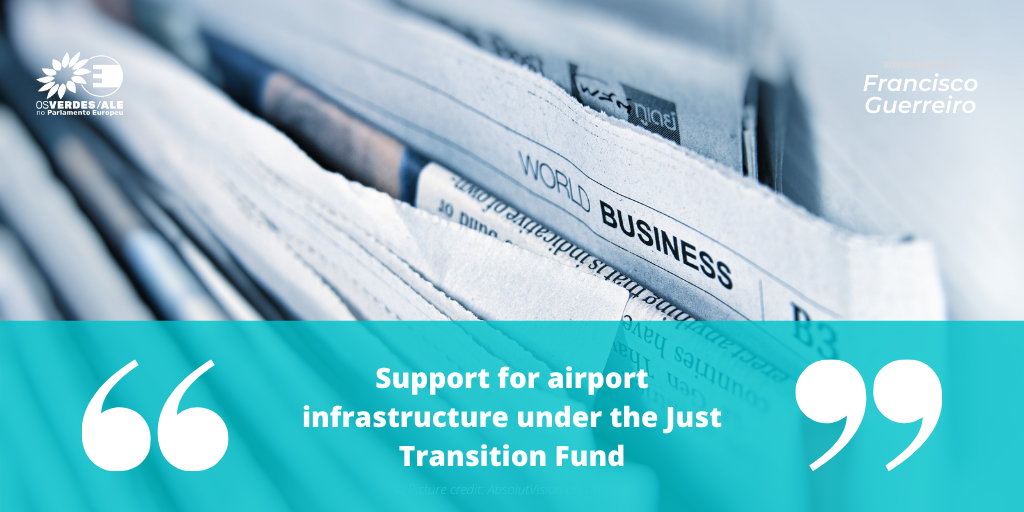 EU Chronicle: 'Support for airport infrastructure under the Just Transition Fund'