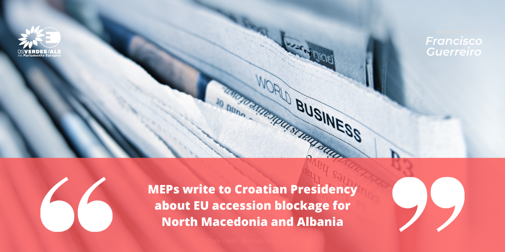 LGBTI Intergroup: 'MEPs write to Croatian Presidency about EU accession blockage for North Macedonia and Albania'