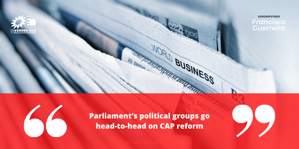 The Parliament Magazine: 'Parliament's political groups go head-to-head on CAP reform'