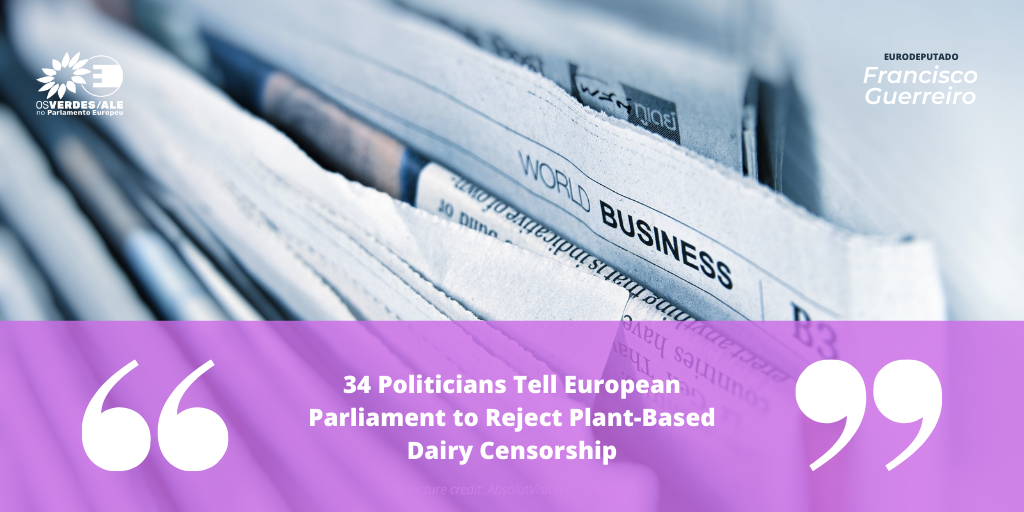 Black Vegan Daily: '34 Politicians Tell European Parliament to Reject Plant-Based Dairy Censorship'