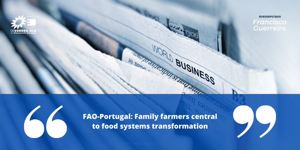 FAO: 'FAO-Portugal: Family farmers central to food systems transformation'