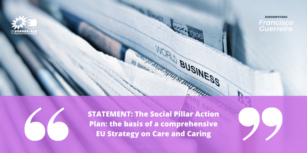 Eurocarers: 'STATEMENT: The Social Pillar Action Plan: the basis of a comprehensive EU Strategy on Care and Caring'