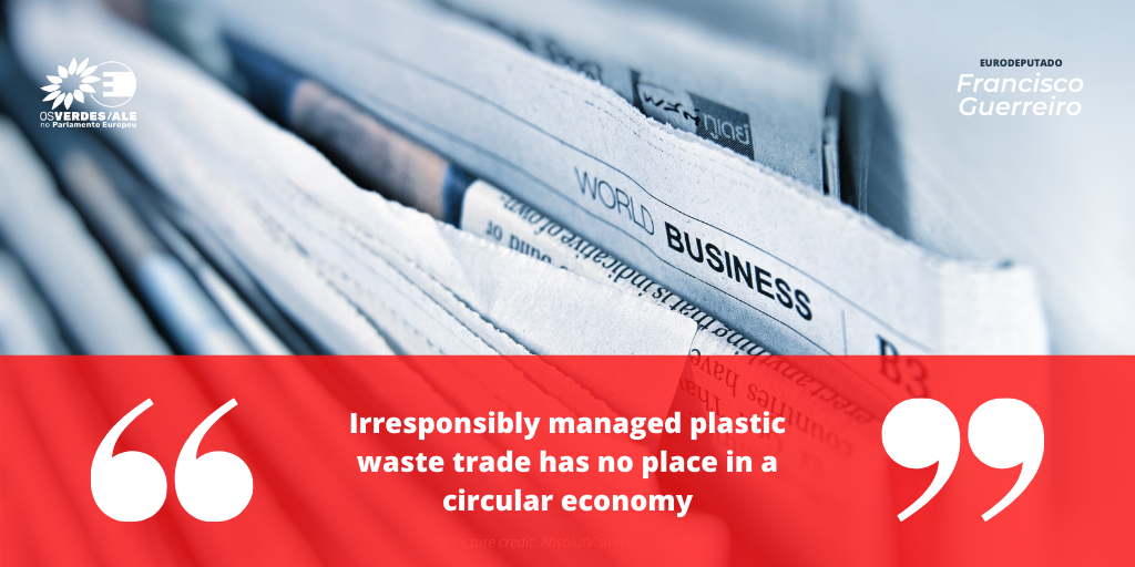 Break Free From Plastic: 'Irresponsibly managed plastic waste trade has no place in a circular economy'